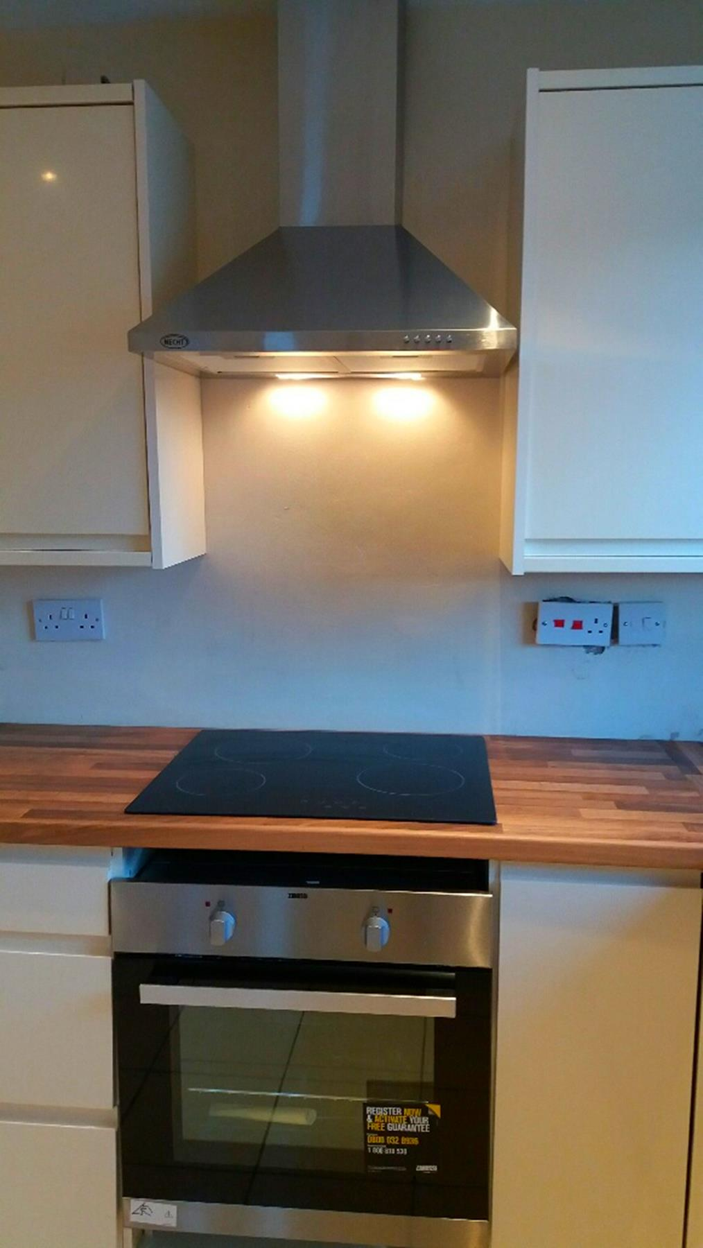 New Oven & Hob